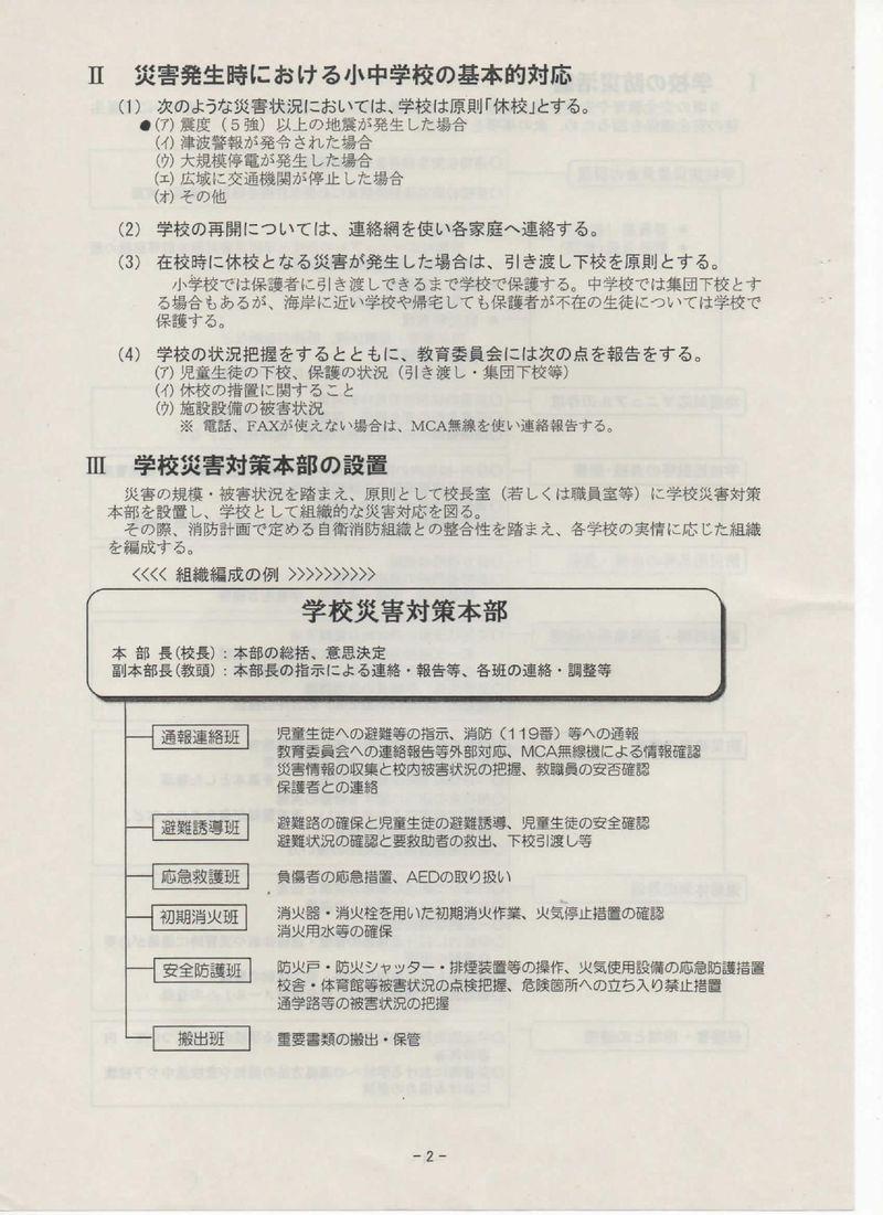 121004学校における地震対応マニュアル0010004