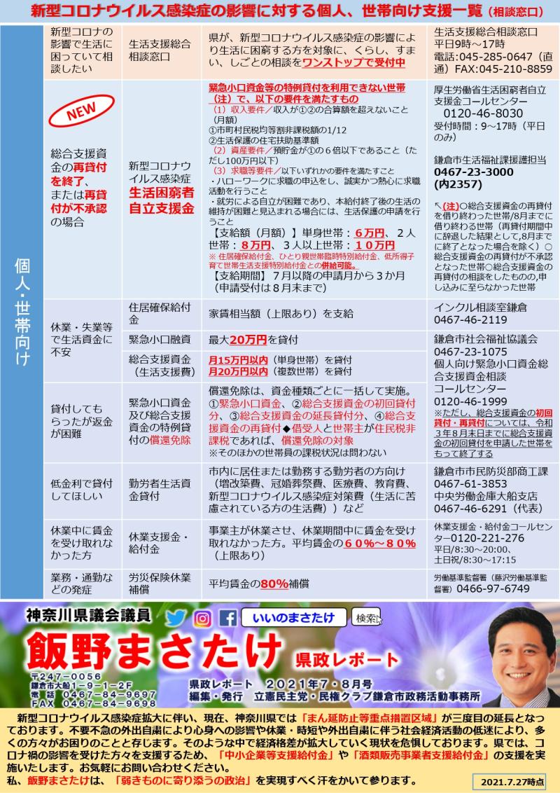 飯野まさたけ県政レポート7 8月号(0727版)_page-0001